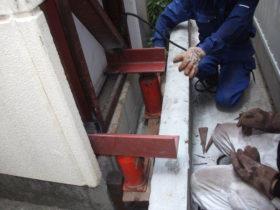 家の基礎下がり補修